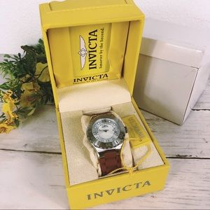 Invicta • NWT Women's Tan & Stainless Steel Watch